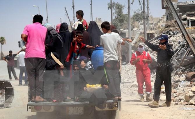 Iraq tiêu diệt 66 phiến quân của tổ chức Nhà nước Hồi giáo (IS) tự xưng