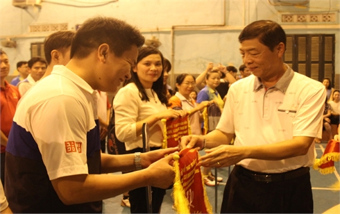 Giải thể thao truyền thống các ban, cơ quan thuộc Tỉnh ủy