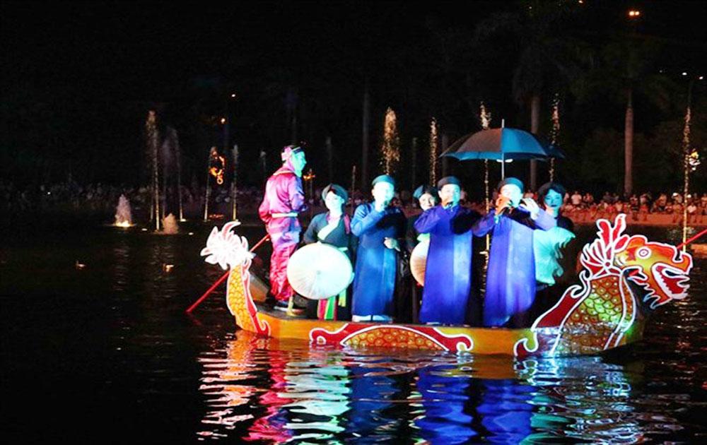 Boat performances help preserve Quan ho singing