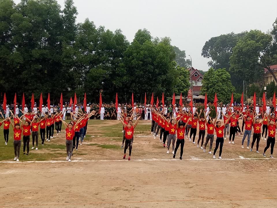Sáng 27-8 diễn ra Lễ khai mạc Đại hội Thể dục Thể thao huyện Lục Ngạn lần thứ VIII