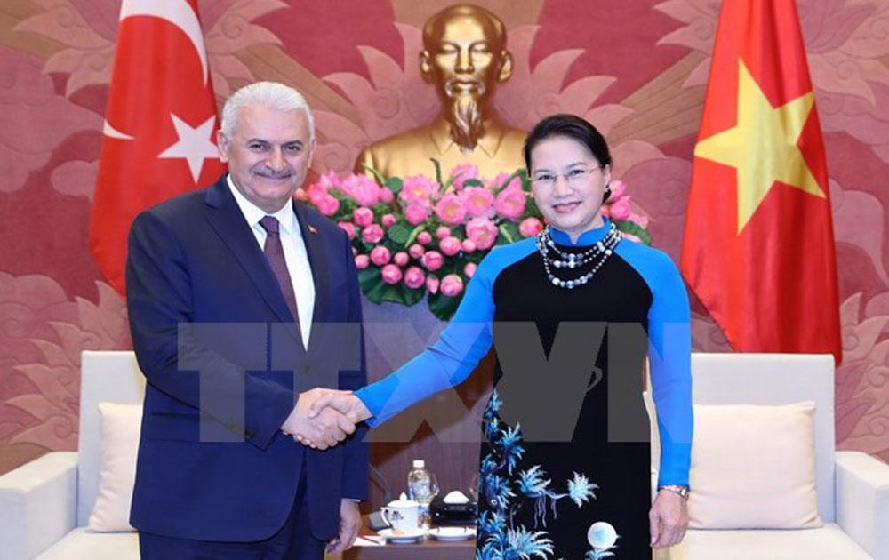 Top legislator welcomes visit of Turkish Prime Minister
