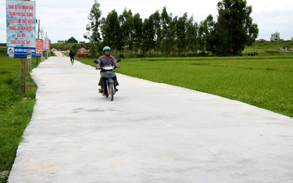 TP Bắc Giang: Cuộc sống mới ở các xã ngoại thành