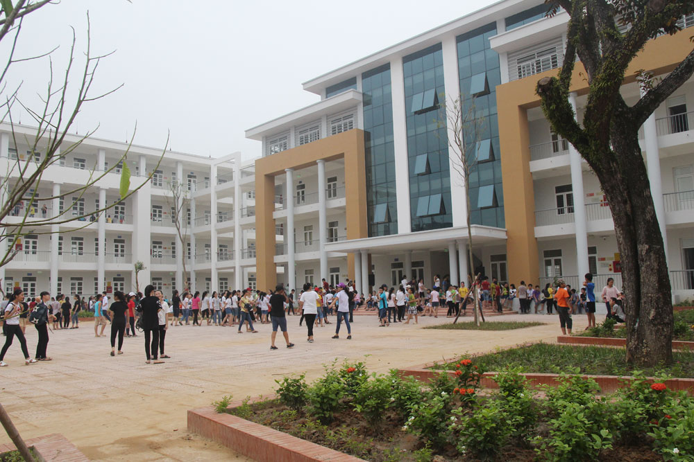 Niềm vui ở ngôi trường mới
