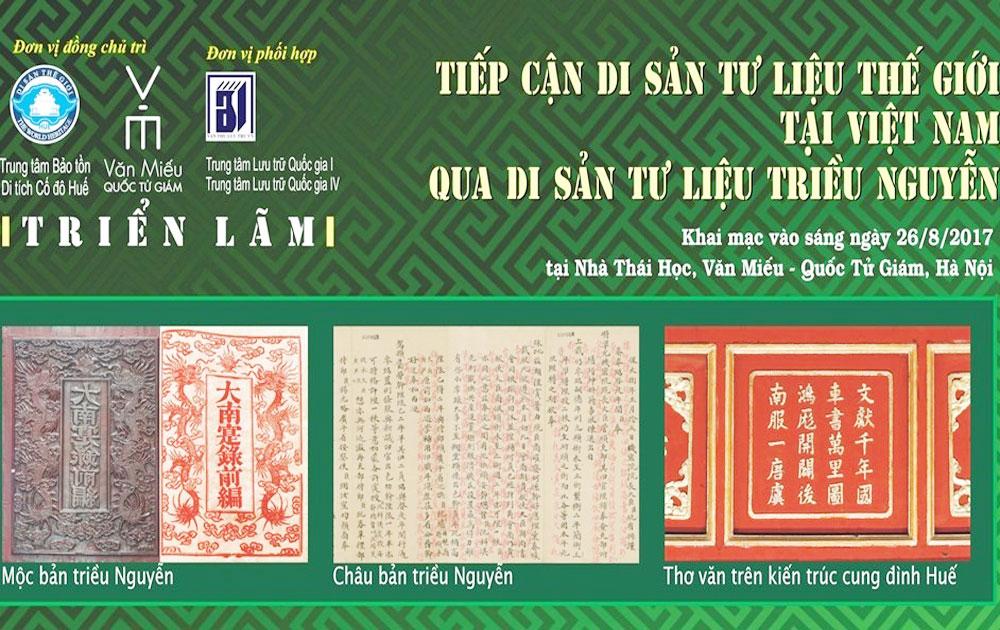 UNESCO-recognised documentary heritages to be showcased in Hanoi
