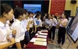 Trưng bày về Trường Sa, Hoàng Sa tại Trường THPT Lạng Giang số 1