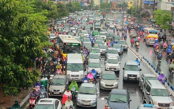 Hà Nội: Cấm xe máy trên địa bàn các quận vào năm 2030