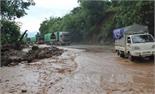 Mực nước các sông lớn lên nhanh, nguy cơ sạt lở và lũ quét ở vùng núi phía Bắc