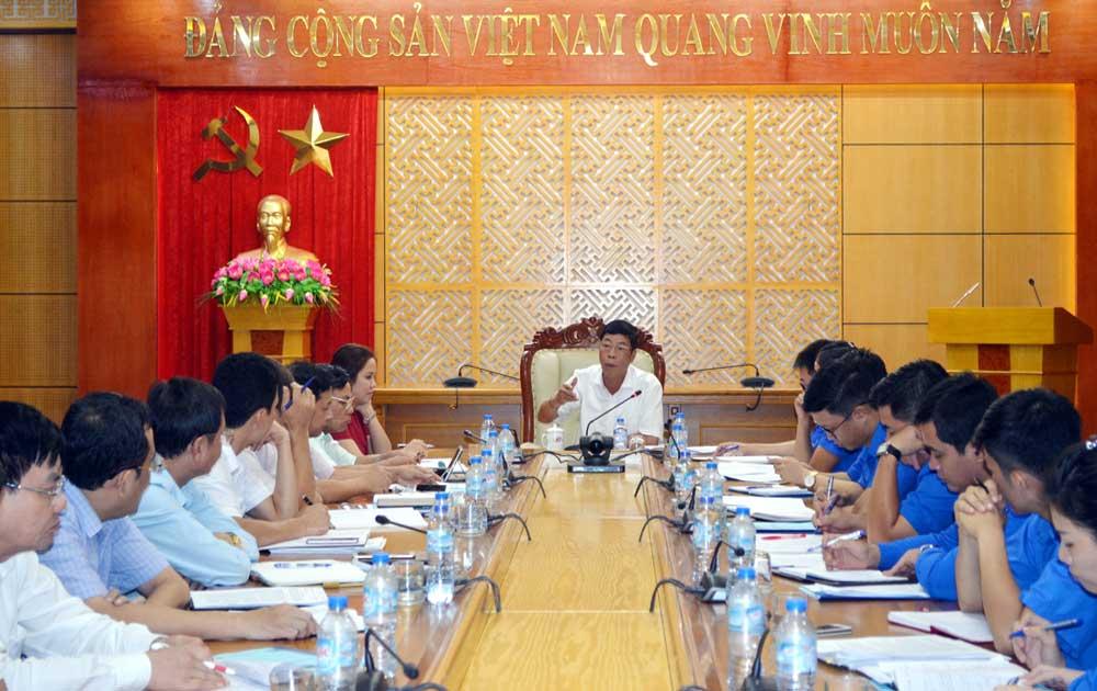 Bí thư Tỉnh ủy Bùi Văn Hải: Chuẩn bị tốt Đại hội Đoàn TNCS Hồ Chí Minh tỉnh Bắc Giang lần thứ XVI