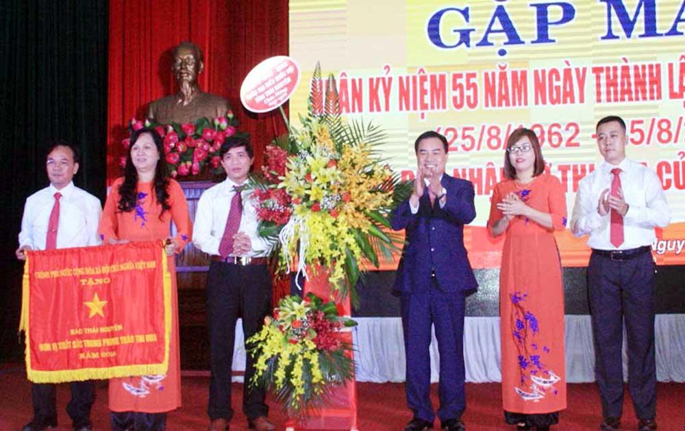 Báo Thái Nguyên kỷ niệm 55 năm ngày thành lập