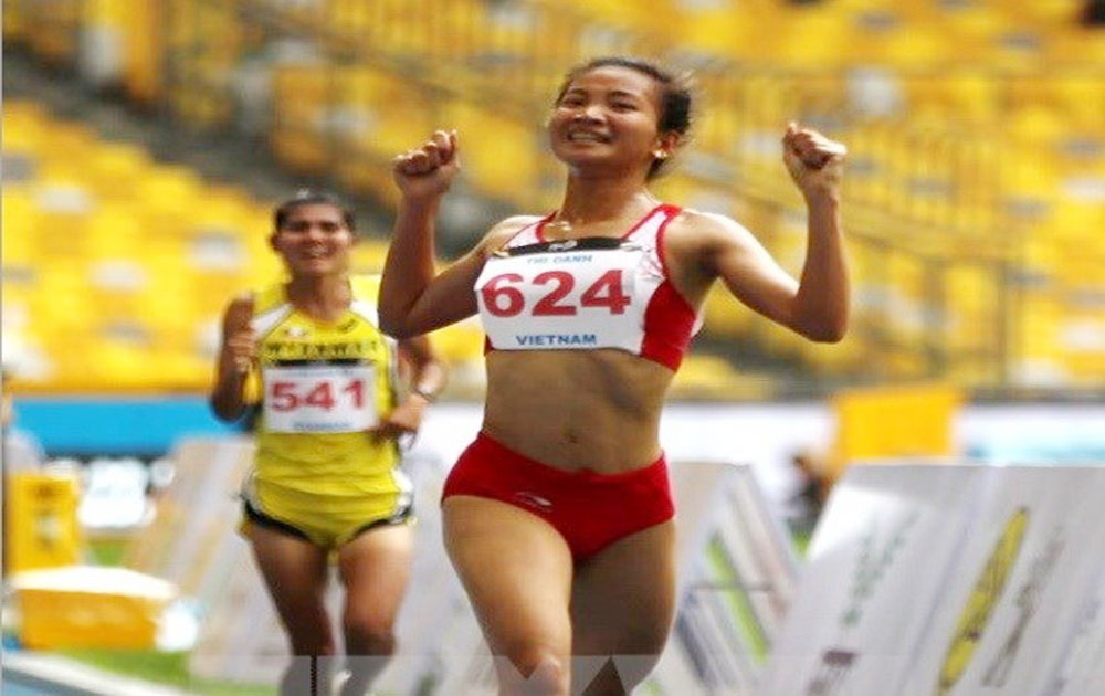 SEA Games 29: Runner Nguyen Thi Oanh bags one more gold