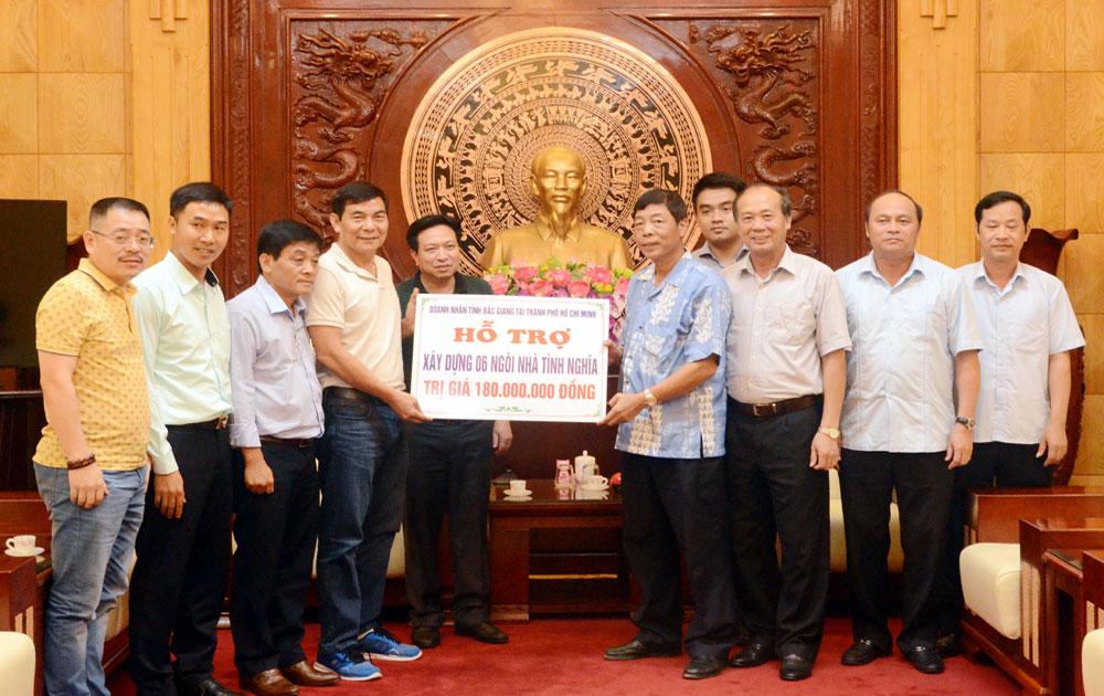 Ban Thường vụ,  Tỉnh ủy,  gặp mặt,  hội đồng hương, Bắc Giang,  Thành phố Hồ Chí Minh