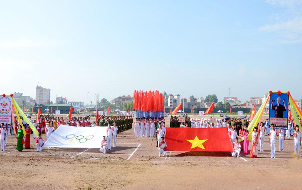 Huyện Yên Dũng tổ chức Đại hội TDTT lần thứ VIII, năm 2017