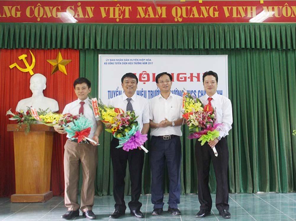 Hiệp Hòa, tuyển chọn, hiệu trưởng, Châu Minh, Hoàng An