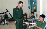 Trường Quân sự (Quân đoàn 2) hiến máu nhân đạo