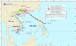 Bão số 7 đi sâu vào đất liền Trung Quốc và suy yếu thành áp thấp nhiệt đới