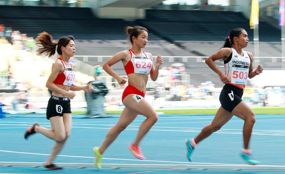Nhà vô địch, SEA Games 29, Nguyễn Thị Oanh, bay cao,  nhờ ý chí, nghị lực