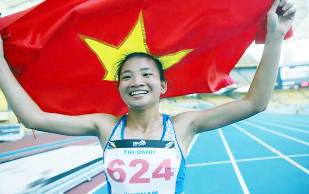 Nhà vô địch SEA Games 29 Nguyễn Thị Oanh: Bay cao nhờ ý chí, nghị lực