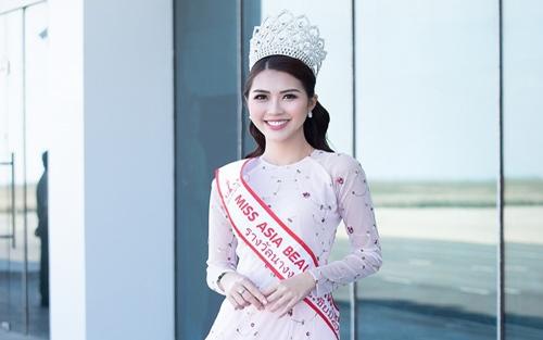 Tường Linh được cử tham dự cuộc thi Hoa hậu Liên lục địa