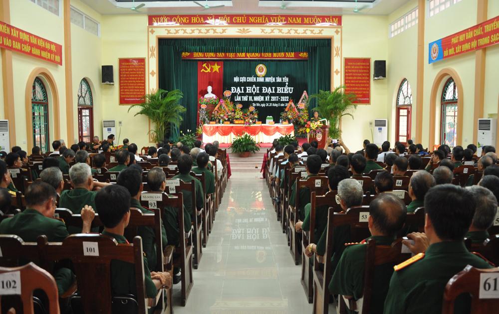 Đại hội đại biểu Hội Cựu chiến binh huyện Tân Yên lần thứ VI nhiệm kỳ 2017- 2022