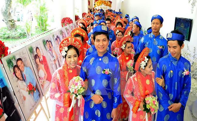 TP Hồ Chí Minh tổ chức lễ cưới tập thể cho 100 cặp đôi có hoàn cảnh khó khăn