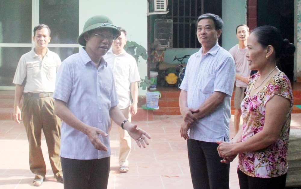 Phó Chủ tịch UBND tỉnh Lê Ánh Dương: Kiểm tra công tác phòng, chống sốt xuất huyết tại Việt Yên