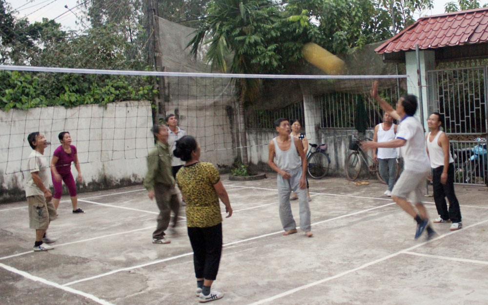 Đoàn kết xây dựng nếp sống văn hóa ở khu dân cư