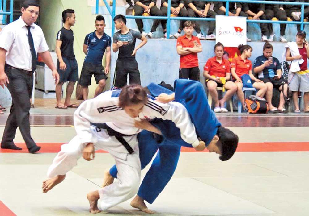 Bac Giang: Judo athletes seek national recognition