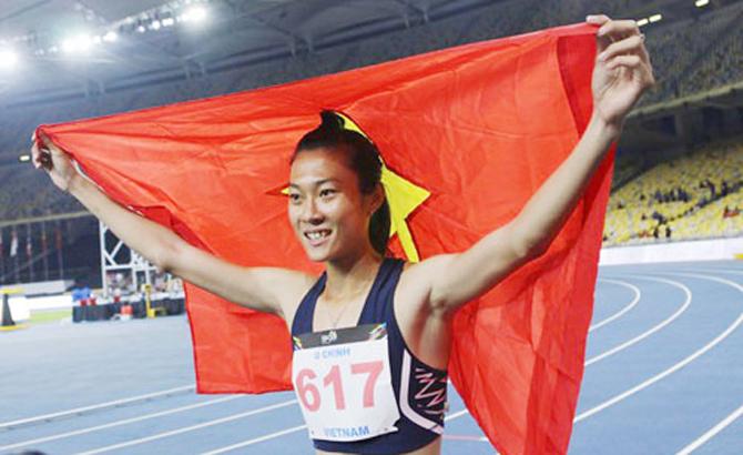 Báo Malaysia ca ngợi 'người phụ nữ nhanh nhất Đông Nam Á' Tú Chinh