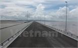 Cầu vượt biển dài nhất Việt Nam thông xe đúng dịp Quốc khánh