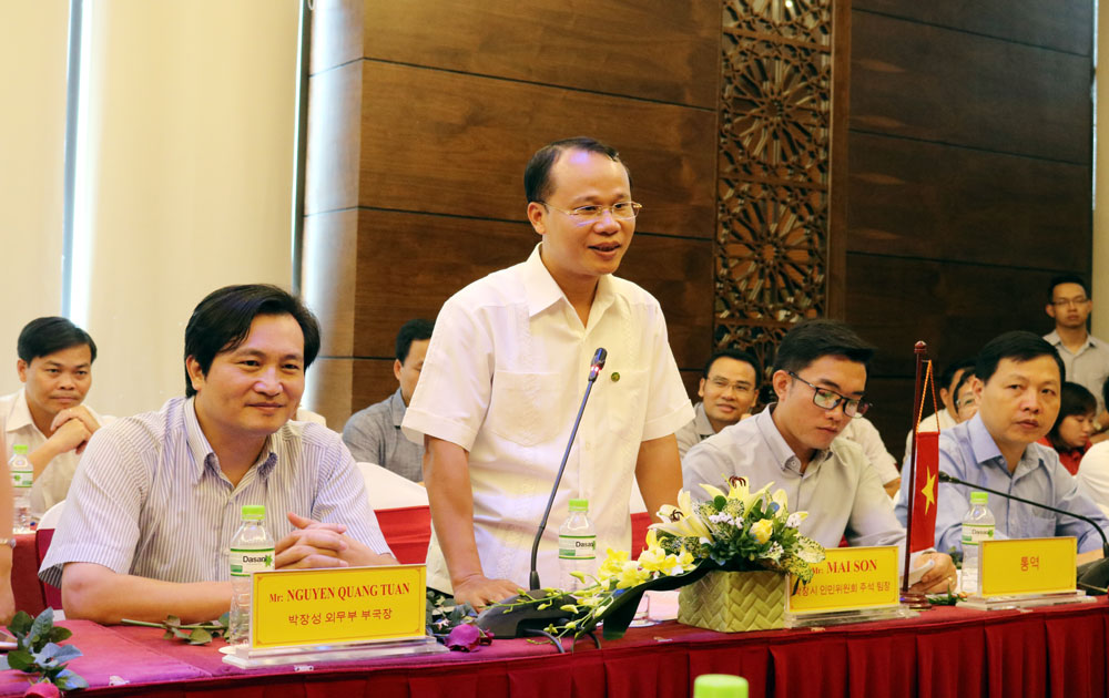 Bac Giang city boosts development cooperation with RoK's Anyang city