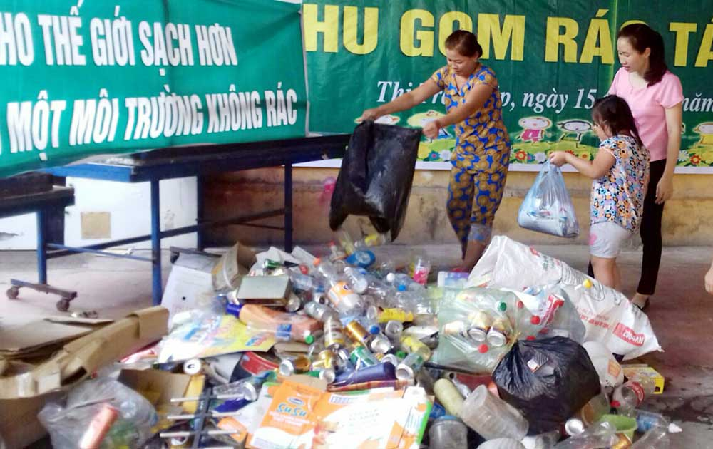 Thị trấn Kép (Lạng Giang): Làng đẹp, ngõ sạch