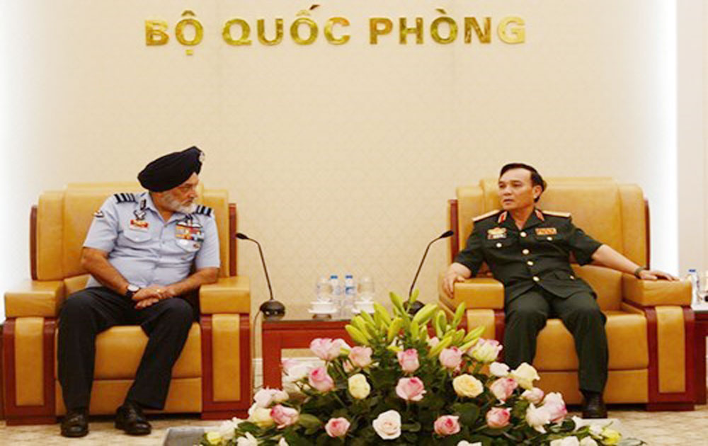 Training – bright spot in Vietnam-India defence ties