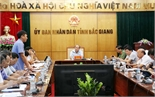 Chủ tịch UBND tỉnh Nguyễn Văn Linh chỉ đạo:  Tập trung cao giải phóng mặt bằng, giải ngân vốn xây dựng cơ bản