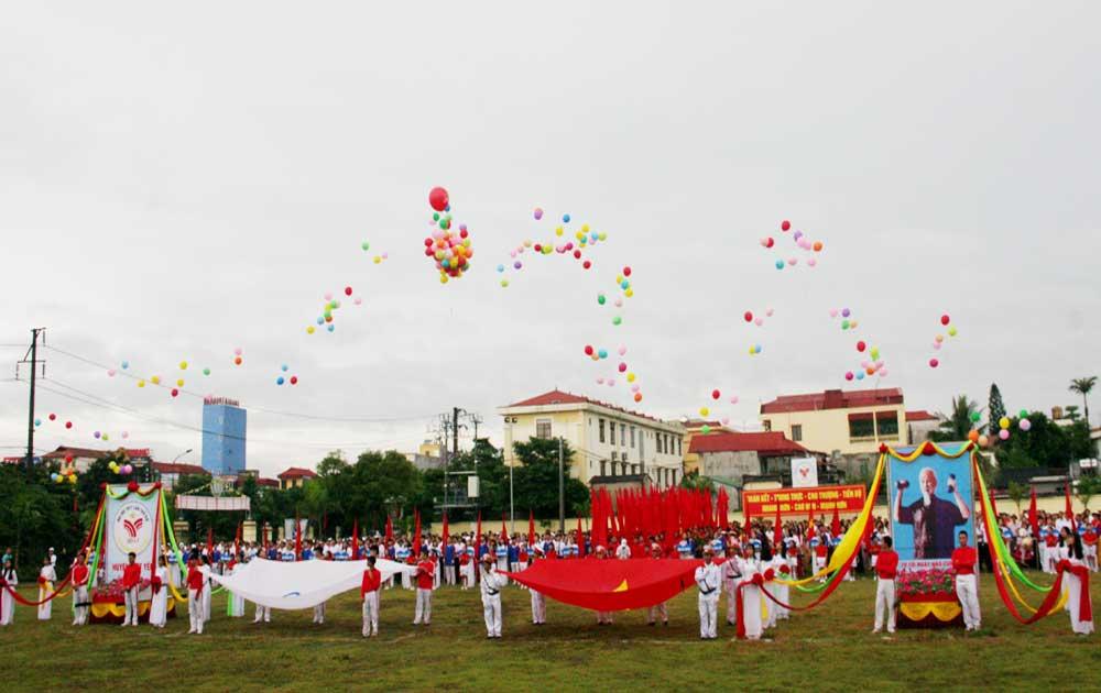 Đại hội Thể dục thể thao huyện Việt Yên lần thứ VIII