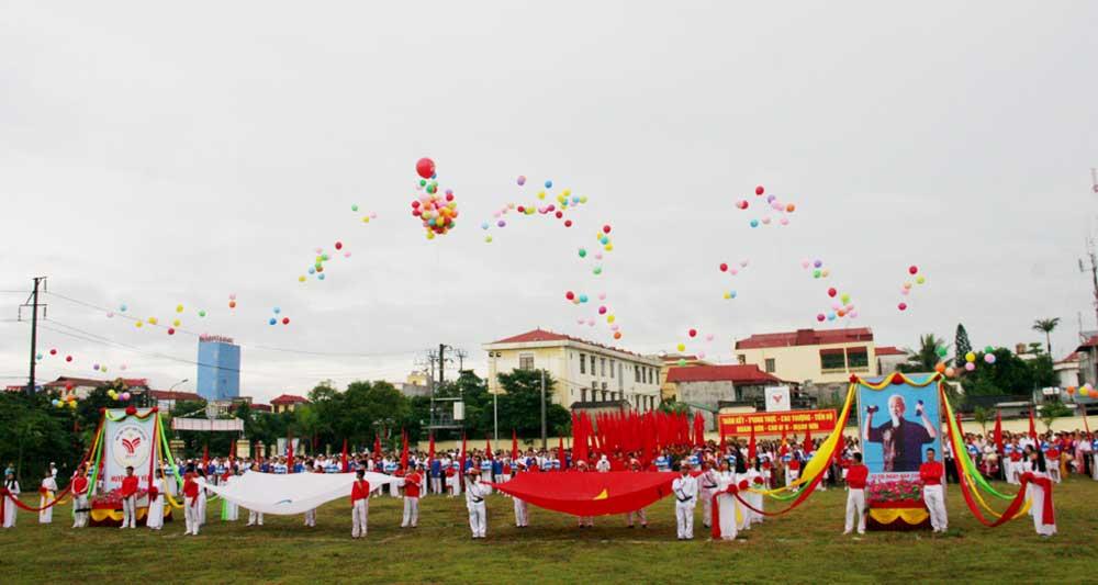 Đại hội, Thể dục thể thao, Việt Yên, lần thứ VIII