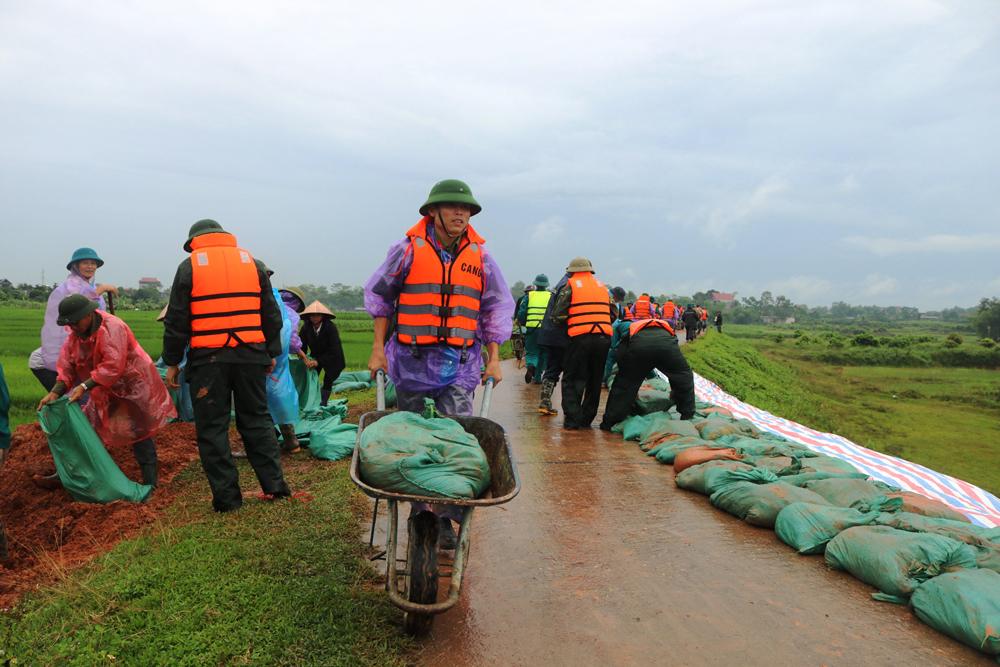 Yên Thế diễn tập phòng chống thiên tai - tìm kiếm cứu nạn