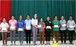 Sơn Động: Hỗ trợ hội viên phụ nữ bị thiệt hại do mưa lũ