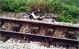 Tai nạn đường sắt, một người tử vong