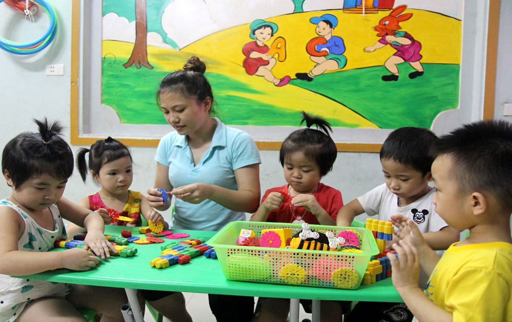 Bac Giang builds private kindergartens at urban, industrial areas
