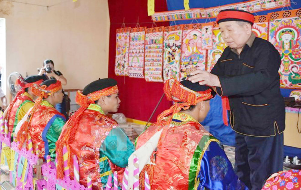 Special culture of Dao ethnic minority people in Tuyen Quang province