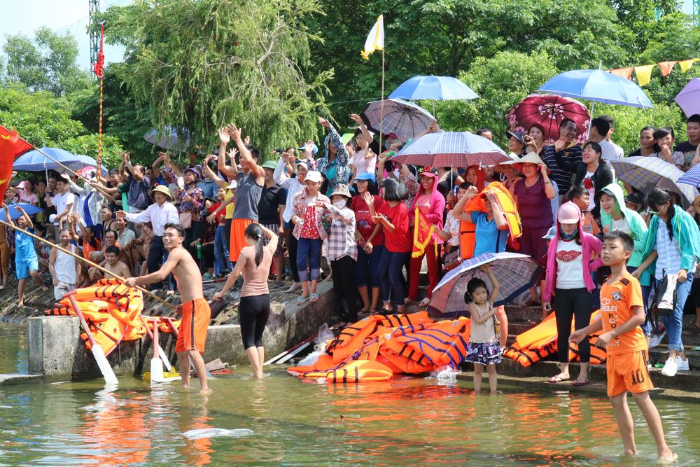 TP Bắc Giang, đua thuyền, thể thao
