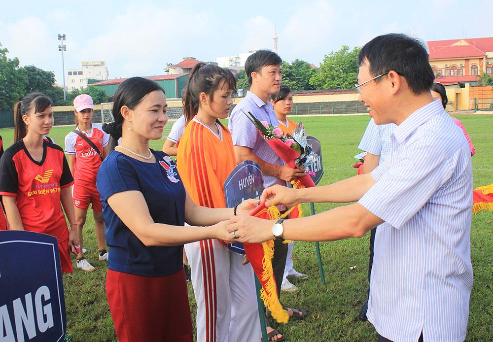 Giải vô địch Bóng đá nữ tỉnh lần thứ IX năm 2017