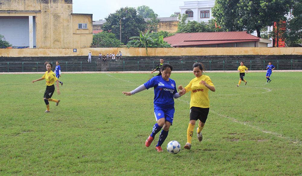 Giải vô địch, bóng đá nữ, rèn luyện thân thể