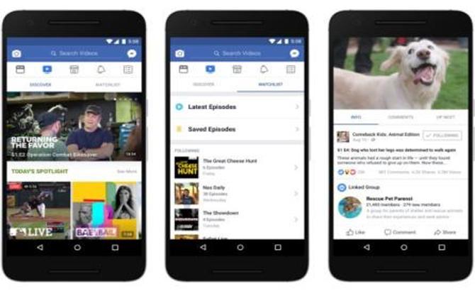 Facebook chính thức tung ra dịch vụ xem video cạnh tranh với YouTube
