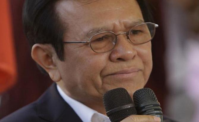 Thủ lĩnh đảng đối lập Campuchia Kem Sokha bị bắt vì phản quốc