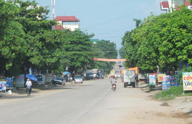 Điều chỉnh quy hoạch chung thị trấn Phương Sơn đạt tiêu chí đô thị loại V