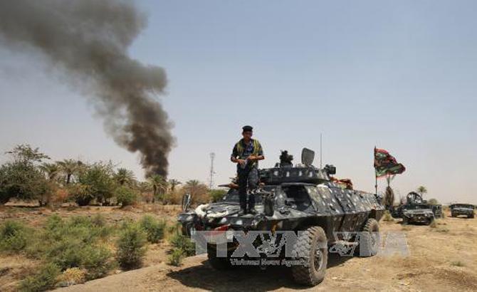 IS áp đặt lệnh giới nghiêm tại các khu vực phía Tây tỉnh Anbar của Iraq