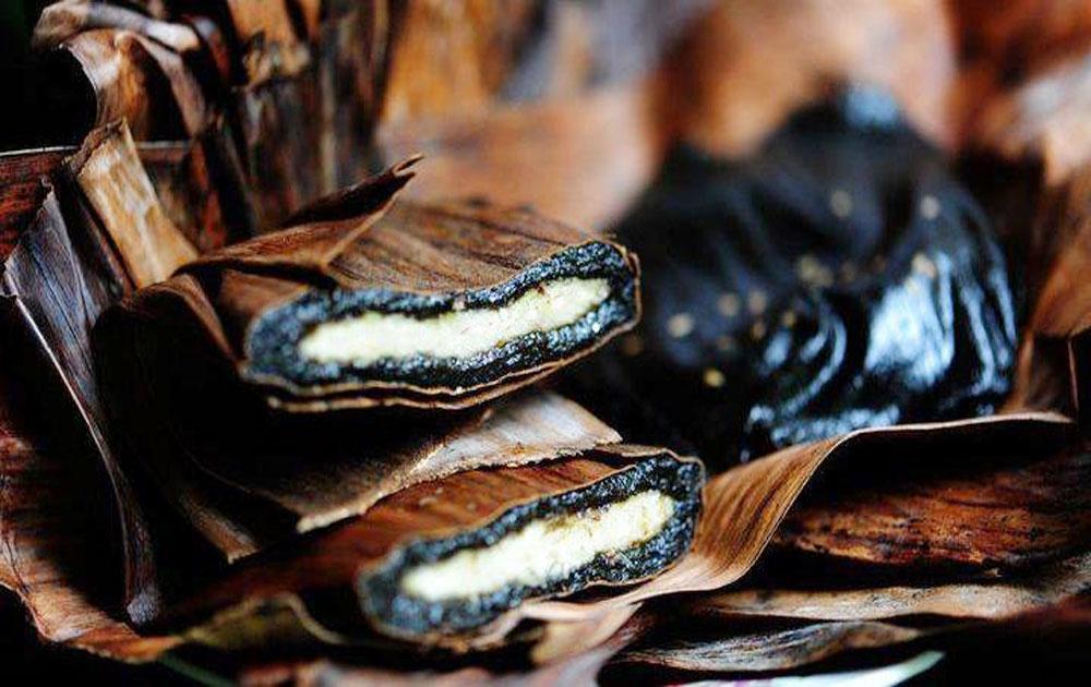 Thorn leaf cake - A rustic cake of Hai Duong