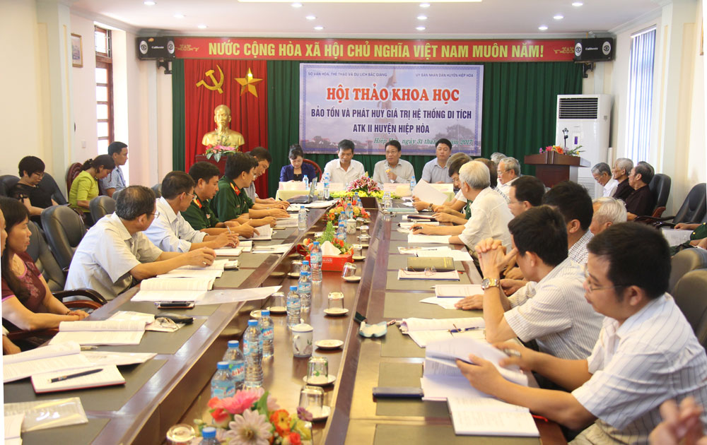 Bac Giang preserves historical values of ATK II relic site