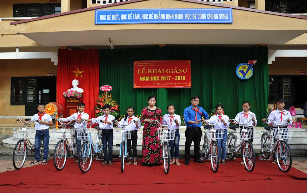 Việt Yên, học sinh, khai giảng,